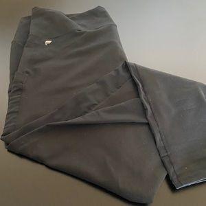 Fabletics Black Plus Size Power-hold Leggings (2X)
